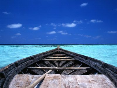 Maldives Vacation Packages All Inclusive | ... Boat (Dhoni) in the Crystal Clear Waters off the Maldives, Maldives