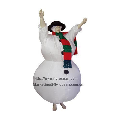 Костюмы снеговика на взрослого на новый год
