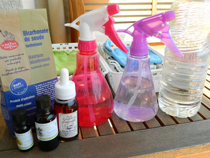 Spray nettoyant multi-usage : on peut très bien se débrouiller avec très peu et avoir un intérieur propre et sain