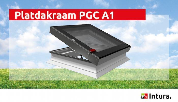 Platdakraam Intura PGC A1 - elektrisch te openen