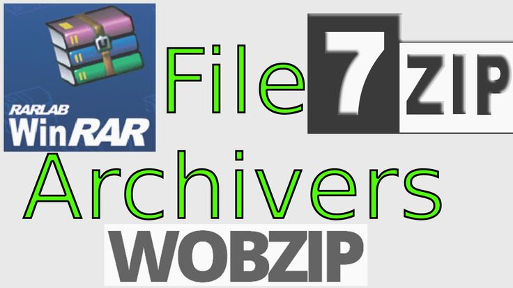 How to Use File Archivers (WinRAR, 7-Zip) and Online Extractors Like WobZip