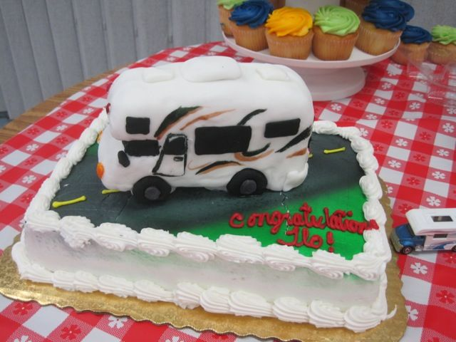 Rv Traveling Themed Retirement Party Retirement Parties