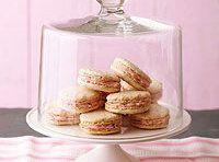 Lemon Macarons with Cranberry-Mascarpone Filling   Recipe   Mascarpone ...