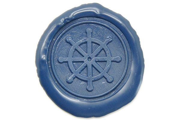 Boat Wheel Wax Seal Stamp from Backtozero
