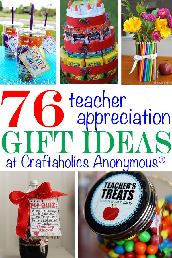 With the end of school right around the corner, its time to show your child's school teachers some love! This post is filled with Teacher Appreciation gift ideas and some awesome do's and don't from teachers themselves. This post is taken from Janel