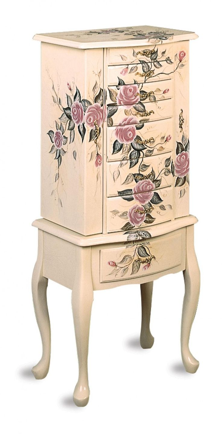 20 best Jewelry Armoire images on Pinterest Closets Jewelry