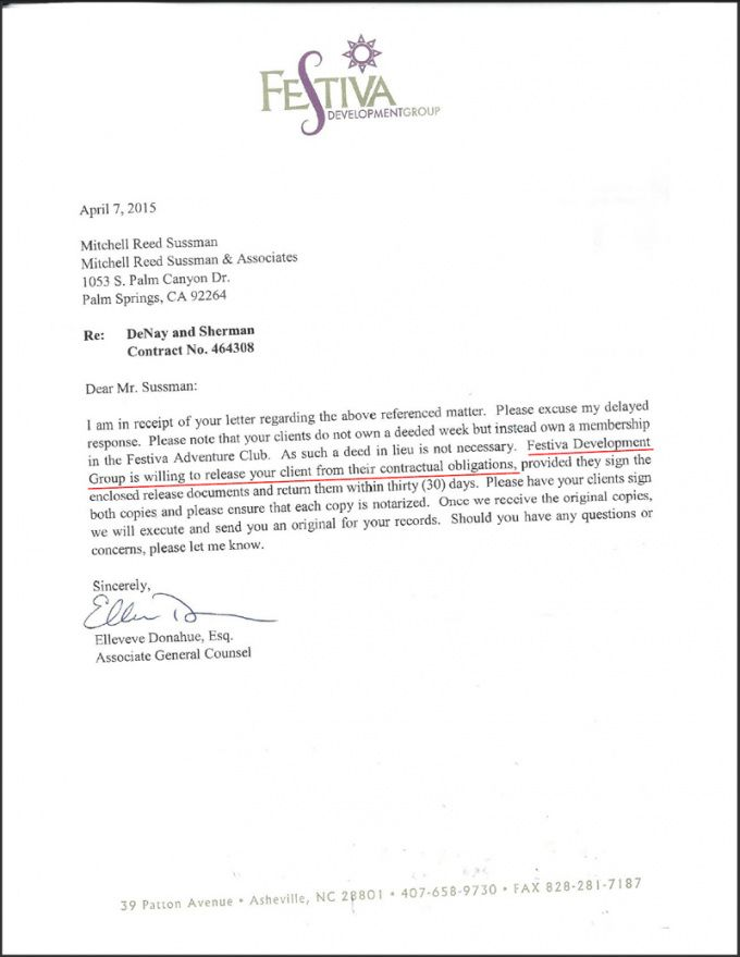 Timeshare Contract Cancellation Letter Template In 2020 With