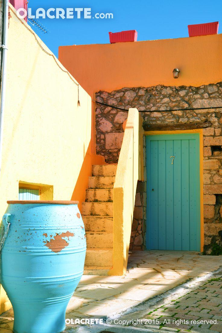 Koutouloufari colourful house