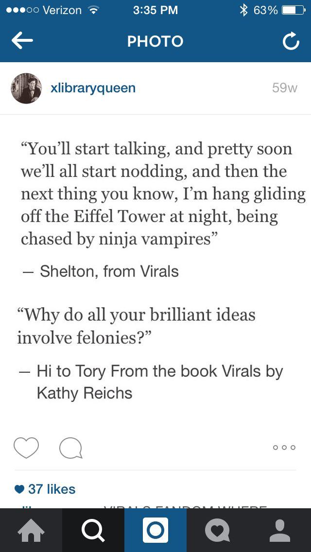 Virals Kathy reichs
