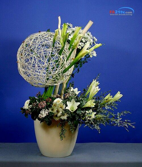 [ 플라워아트21TV - 성전꽃꽂이 동영상강좌 작품 ] ◆ http://fa21tv.com ◆  #성전꽃꽂이#flower#꽃꽂이#churchflower#floral
