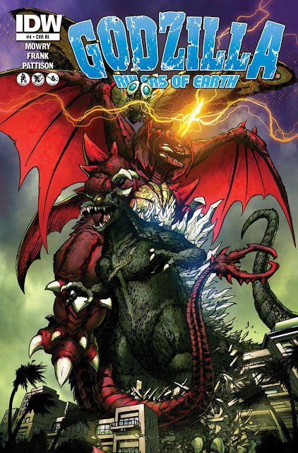 Godzilla vs Titanosaurus | IDW Godzilla Comics For ...
