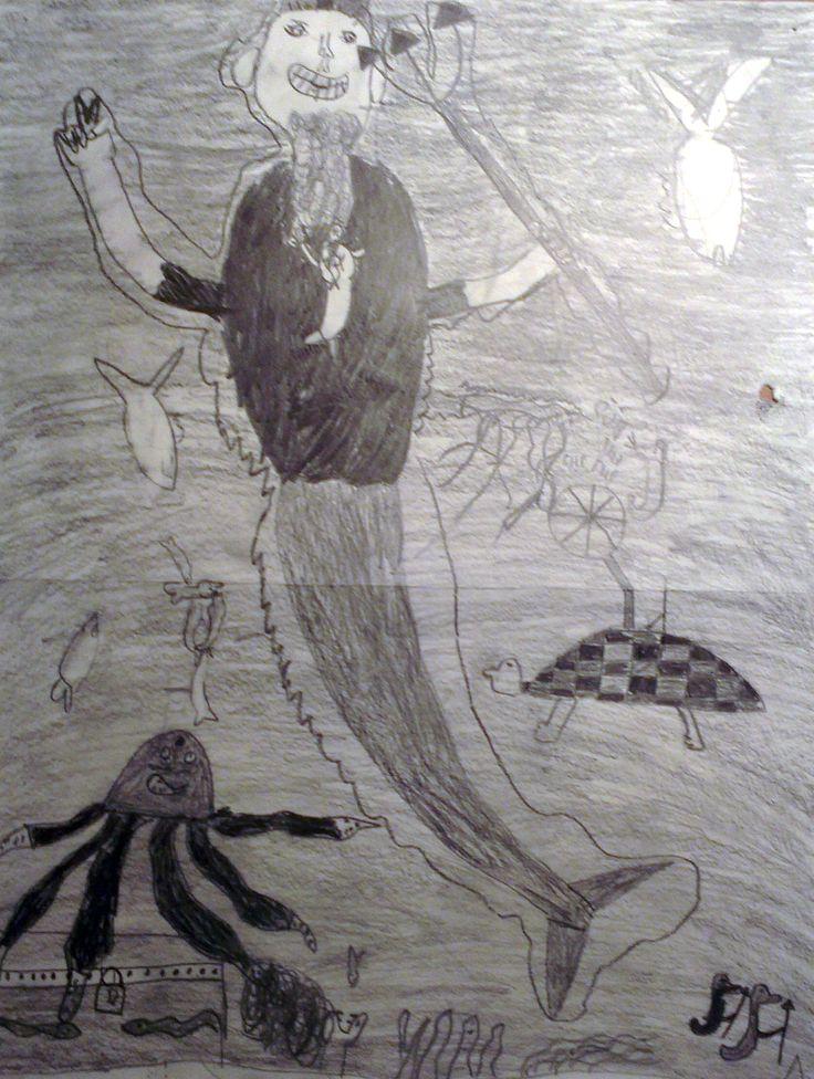 Grafitikynä - Ahdin valtakunta. | 4.lk piirustus / sommittelu | Pinterest | Sketches
