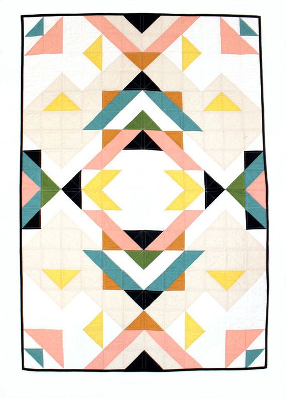 Geometric Baby Quilt   www.lab333.com  www.facebook.com/pages/LAB-STYLE/585086788169863  www.lab333style.com  lablikes.tumblr.com  www.pinterest.com/labstyle