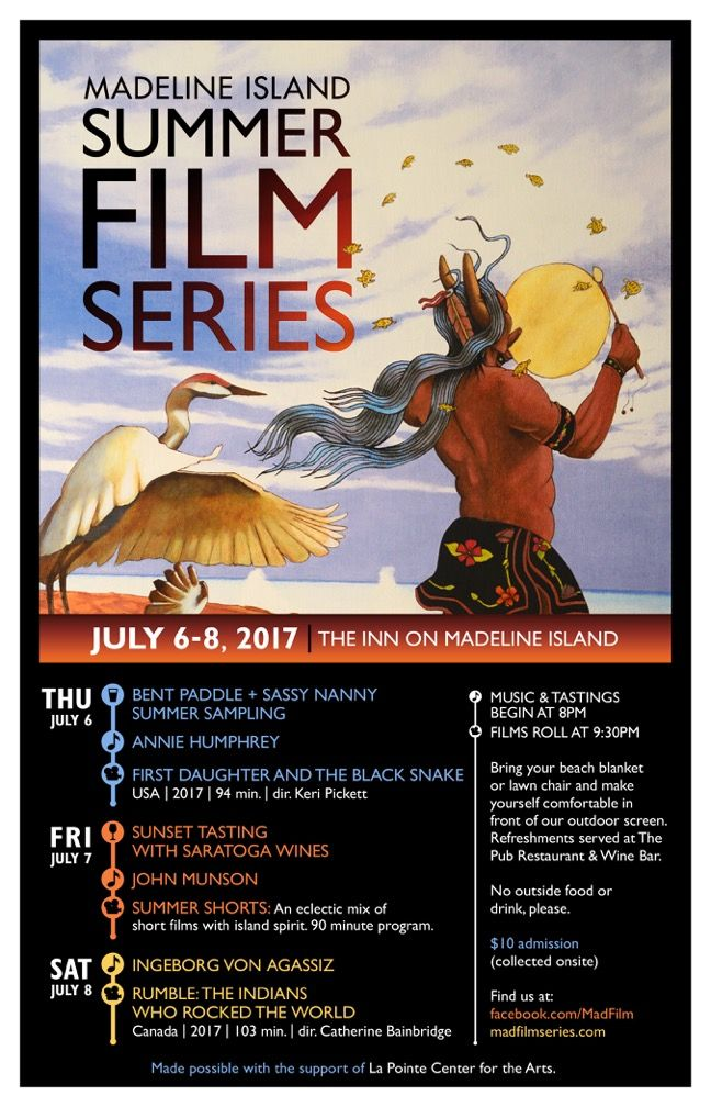 Winona LaDuke to Appear at the Madeline Summer Film Series on July 6th in Wisconsin