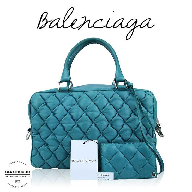 Bolsa Balenciaga Matelassê • Preço Loja: R$6.800,00 • Preço Etiqueta Única: R$2.690,00   Parcelamos em até 12x sem juros • Cód: AJF47 #etiquetaunica #shoponline #balenciaga