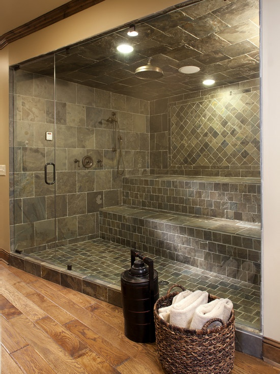 Luxury Master Bathroom Steam Shower Design Pictures Remodel Decor And Ideas