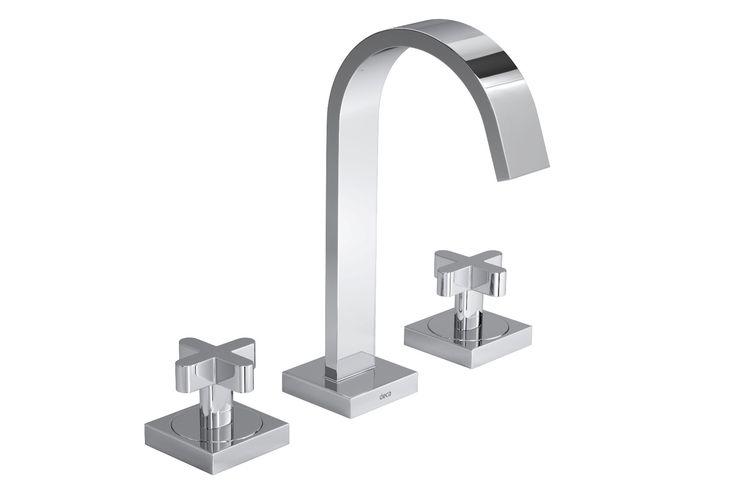 Misturador de mesa bica alta para lavatório Polo Clássica Cromado   Produtos   Deca
