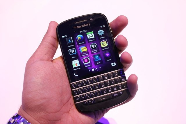 The BlackBerry Q10 Is A Curious Blend Of Old And New