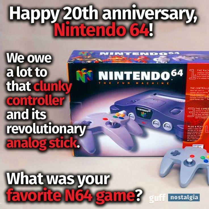 20 years of Anniversary of Nintendo 64