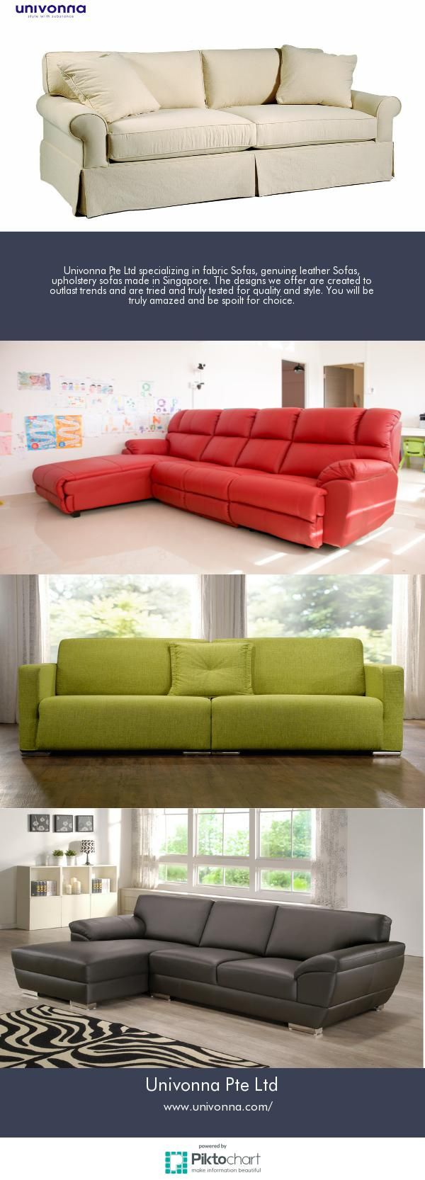 Buy Fabric Sofas- Beds and Mattress Online at - Univonna