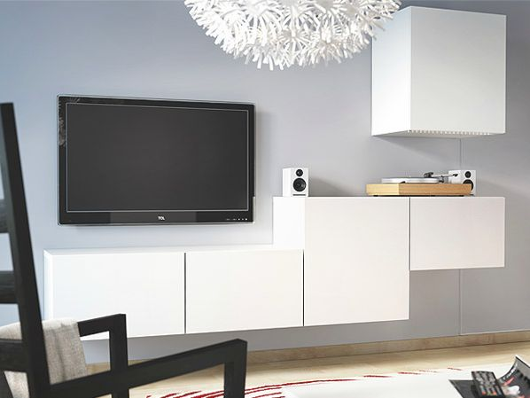 album 1 photos catalogues ikea banc tv besta billy. Black Bedroom Furniture Sets. Home Design Ideas