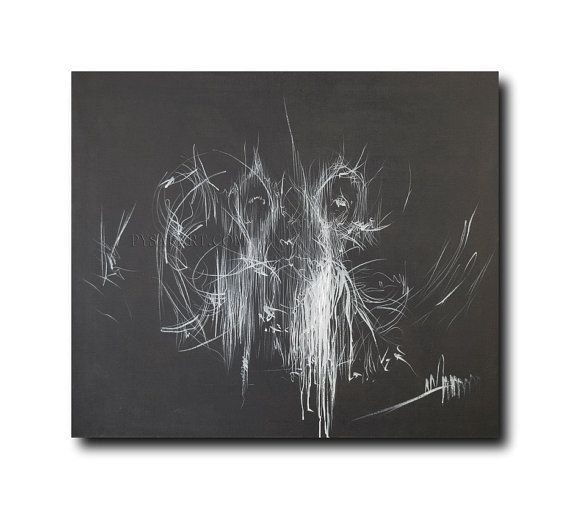 Black and White Canvas Art Abstract ballet art by PysarArt on Etsy