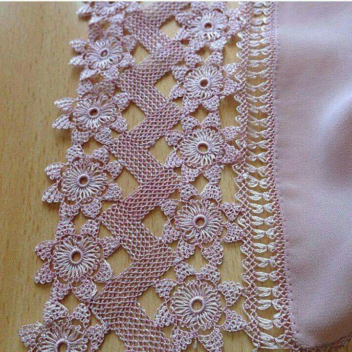 Another example of how a creation can become beautiful when there is trim and appliques insert to it. Michelle F
