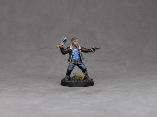 Rick Grimes painting tutorial for Walking Dead All Out War game