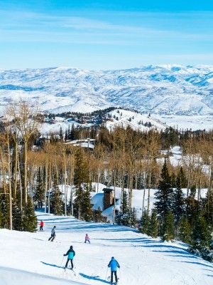 Deer Valley Ski Resort in Park City Utah - iwashyoudry