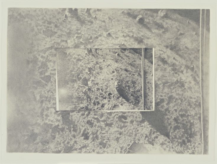 Vija Celmins. Moon Surface (Luna 9) #1. 1969