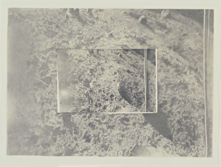 Vija Celmins. Moon Surface (Luna 9) #1. 1969