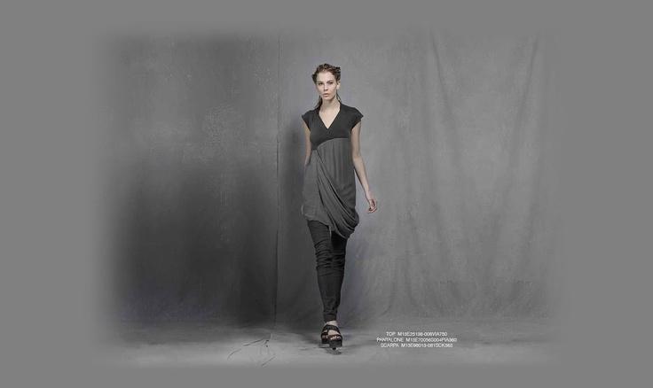 Malloni Black Collection S13 #slacks  #shoes