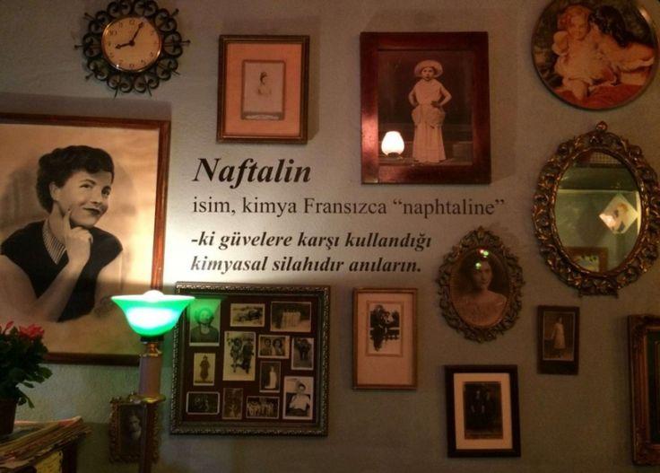 İstanbul'un En Güzel Mekanı: Cafe Naftalin K   Edebiyat Haber Portalı