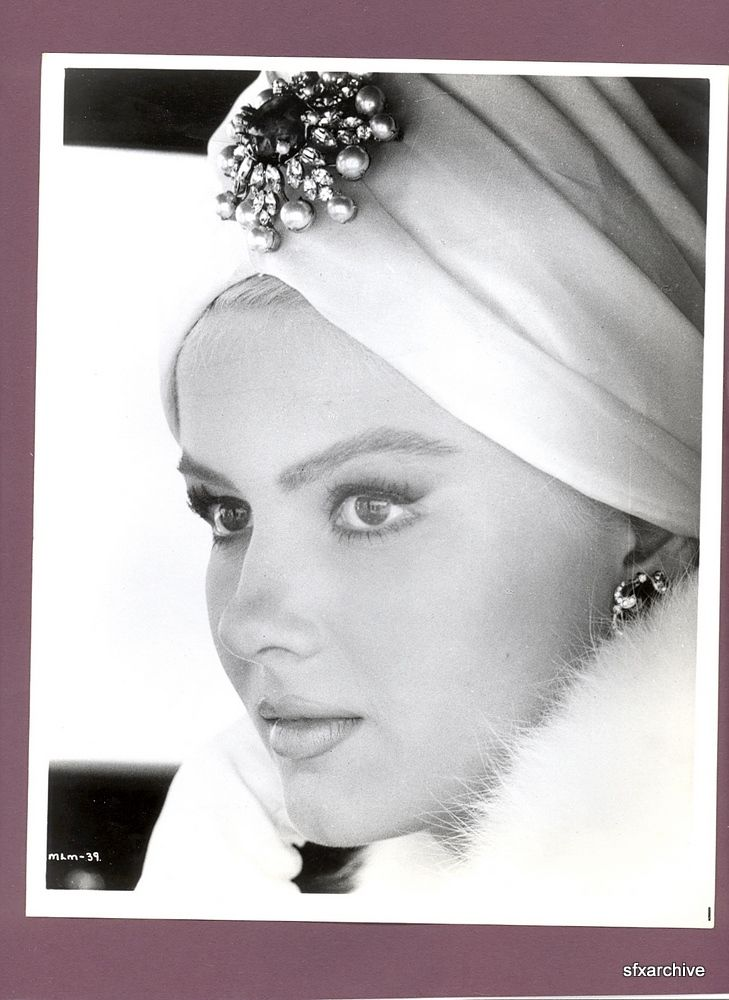 Vintage turban  Vintage 1965 Actress Pamela Tiffin in