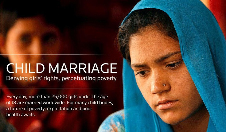 Child marriage is a gross human rights violation that puts young girls at risk and keeps them mired in poverty.