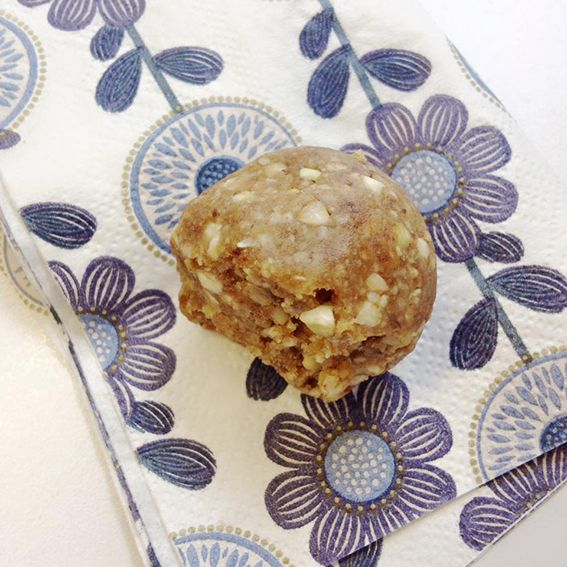 OUR EVENING MEAL: GINGER CRUNCH BLISS BALLS