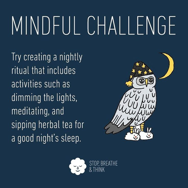 Try creating a nightly ritual that includes activities like dimming the lights, meditating, and sipping herbal tea for a good night's sleep. #mindfulchallenge #sleep #ritual #habit #insomnia #night #mindful #mindfulness #InsomniaNight