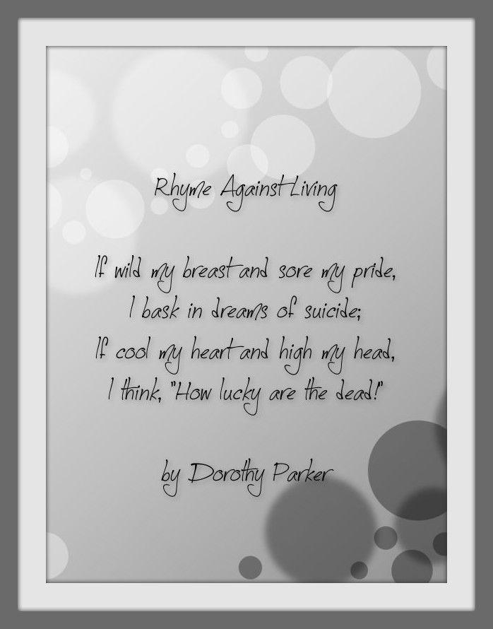 146 best Dorothy Parker images on Pinterest Dorothy parker, Poem - resume by dorothy parker