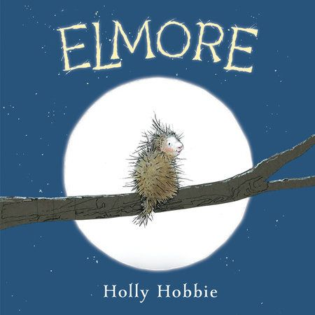 One problem usually not associated with forming relationships is having physical qualities which tend to keep others, for safety reasons, at a distance.  Elmore (Random House, January 30, 2018) written and illustrated by Holly Hobbie, renowned author illustrator of the Toot and Puddle series, presents readers with a member of the forest community who longs for friends.  When you're a porcupine, it's an unusual situation.