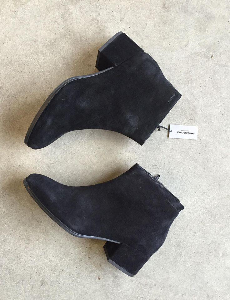 Feminin støvle med blokhæl fra Vagabond. Havanna Shoes.