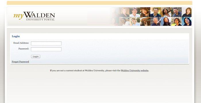 walden university login portal