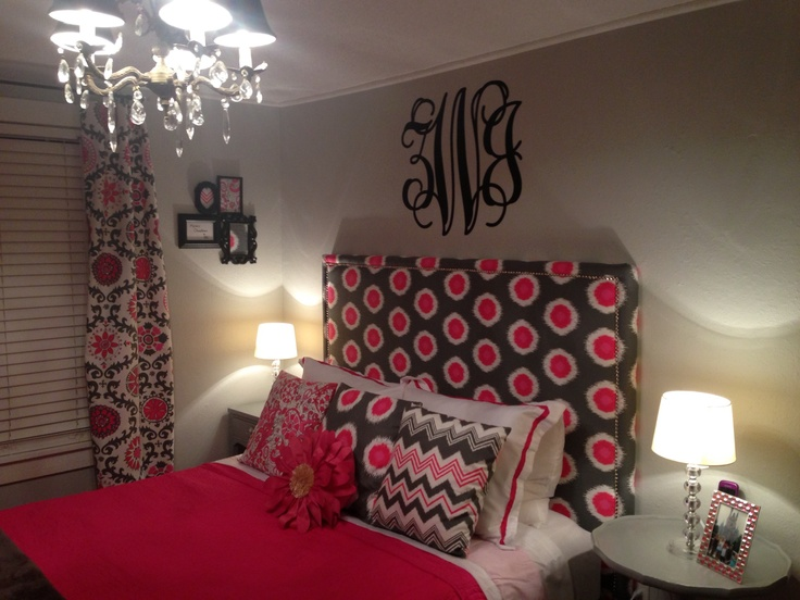 Room i designed for my 11 year old sister turned out great interior design pinterest - Yearold girls bedroom ...