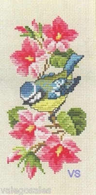 Ellen Maurer-Stroh Counted #crossstitch  SPRING FLOWERS Eyeglass Case #chart #needlecraft #DIY #decor