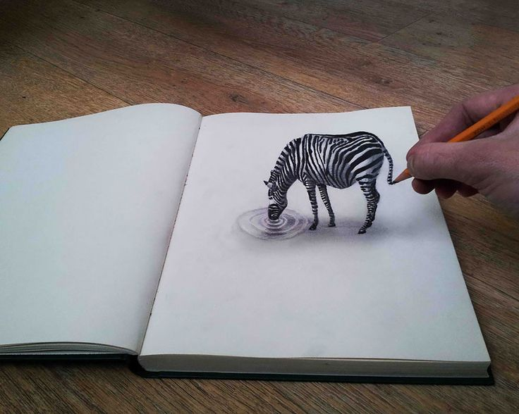 32 Of The Best 3D Pencil Drawings