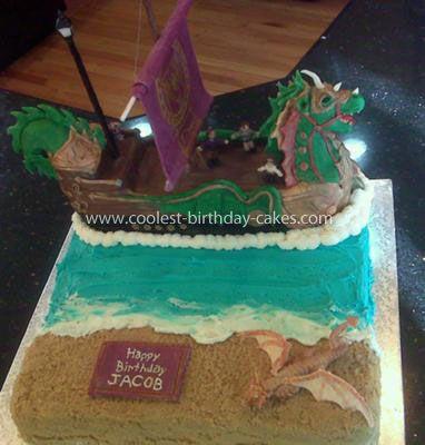 Narnia Prince Caspian Birthday Cakes