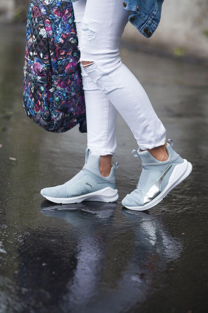 a1b67673 puma 'fierce metallic' high top sneaker