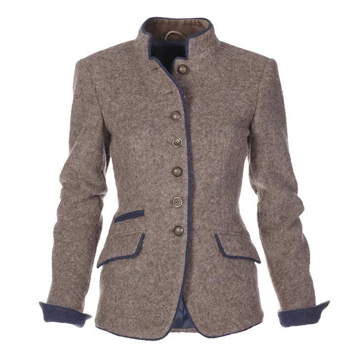 Women/'s Vintage Long Jacket