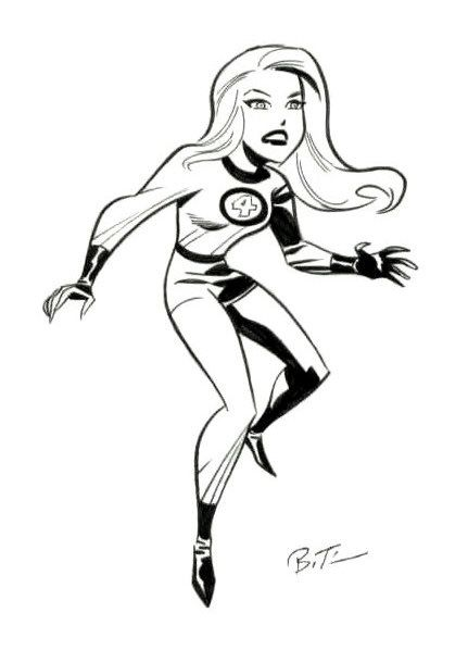The Invisible Woman by Bruce Timm