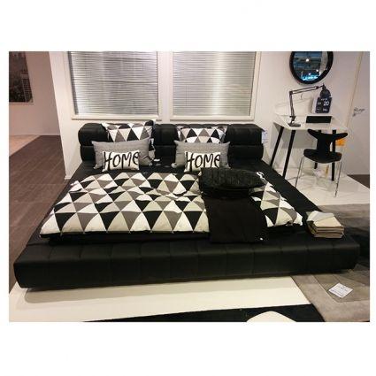 Cube ágy, fekete – Ágyak - ID Design Életterek - Hálószoba