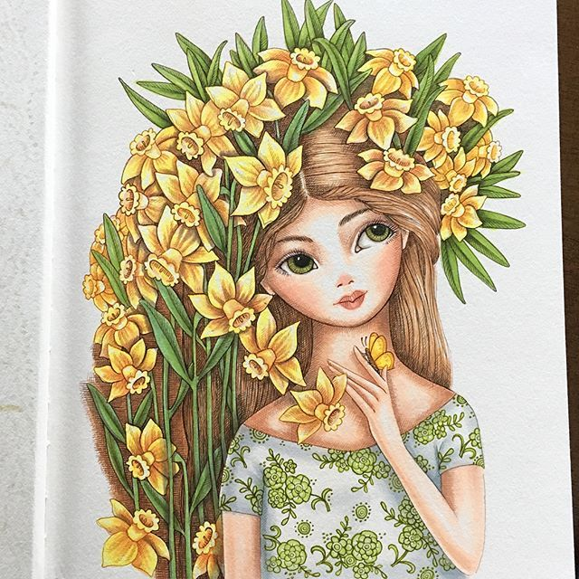 Daffodils always remind me of Springtime in England    #art #artist #art_we_inspire #artoftheday #artwork #artistsoninstagram #illustration #illustrationartists #illustrationage #kidsillustration #drawing #sketch #sketchbook #sketchdaily #artmakesmehappy #design #floral #flowers #girlart #copic #copicciao #ink #instaart #instaartist #daffodils #childrenswritersguild #childrensillustration